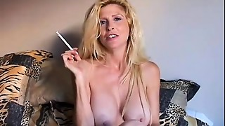 Mature Milf Smoking