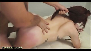 BDSM,Big Cock,Blowjob,Casting,Doggystyle,Extreme,Gagging,Hardcore,Redhead,Screaming