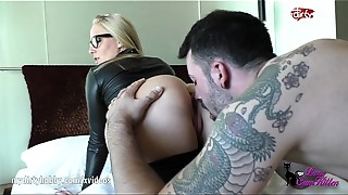 Big Ass,Blowjob,Cumshot,Fetish,Hardcore,High Heels,Latex,Threesome,Amateur