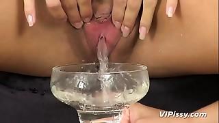 Pissing,Seduced,Sex Toys,Close-up,Gym,Lesbian