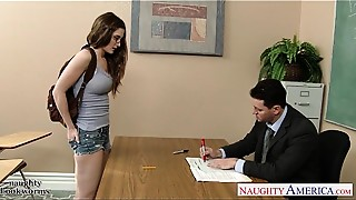 Big Ass,Big Boobs,Blowjob,Brunette,Glasses,Hardcore,School,Student